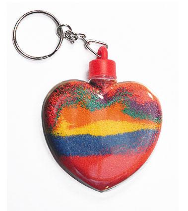 Heart Keyring (pack of 5)