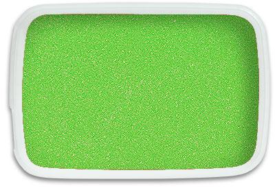 Lime Green Sand 1 Kilo Bag