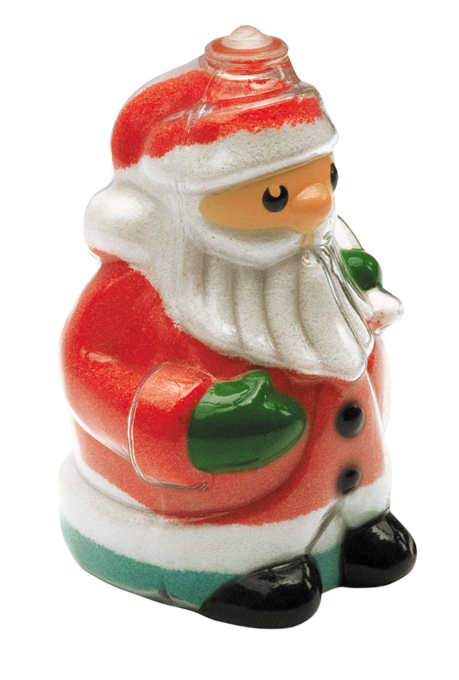 Santa Bottles (Pack of 5)