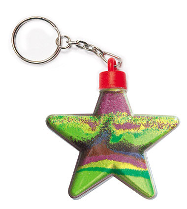 Star Keyring (pack of 5 )